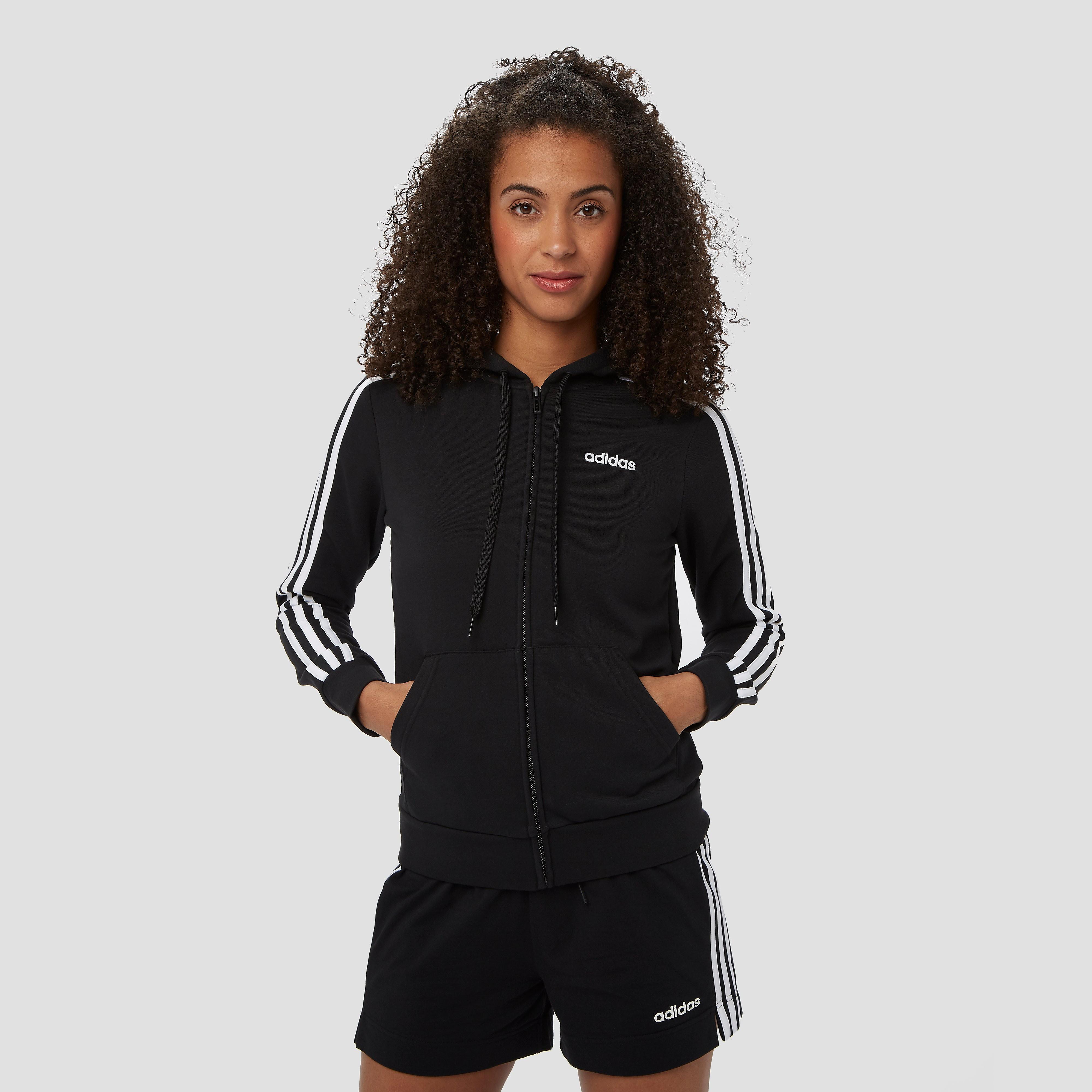 adidas Essentials 3-stripes vest zwart dames Dames thumbnail