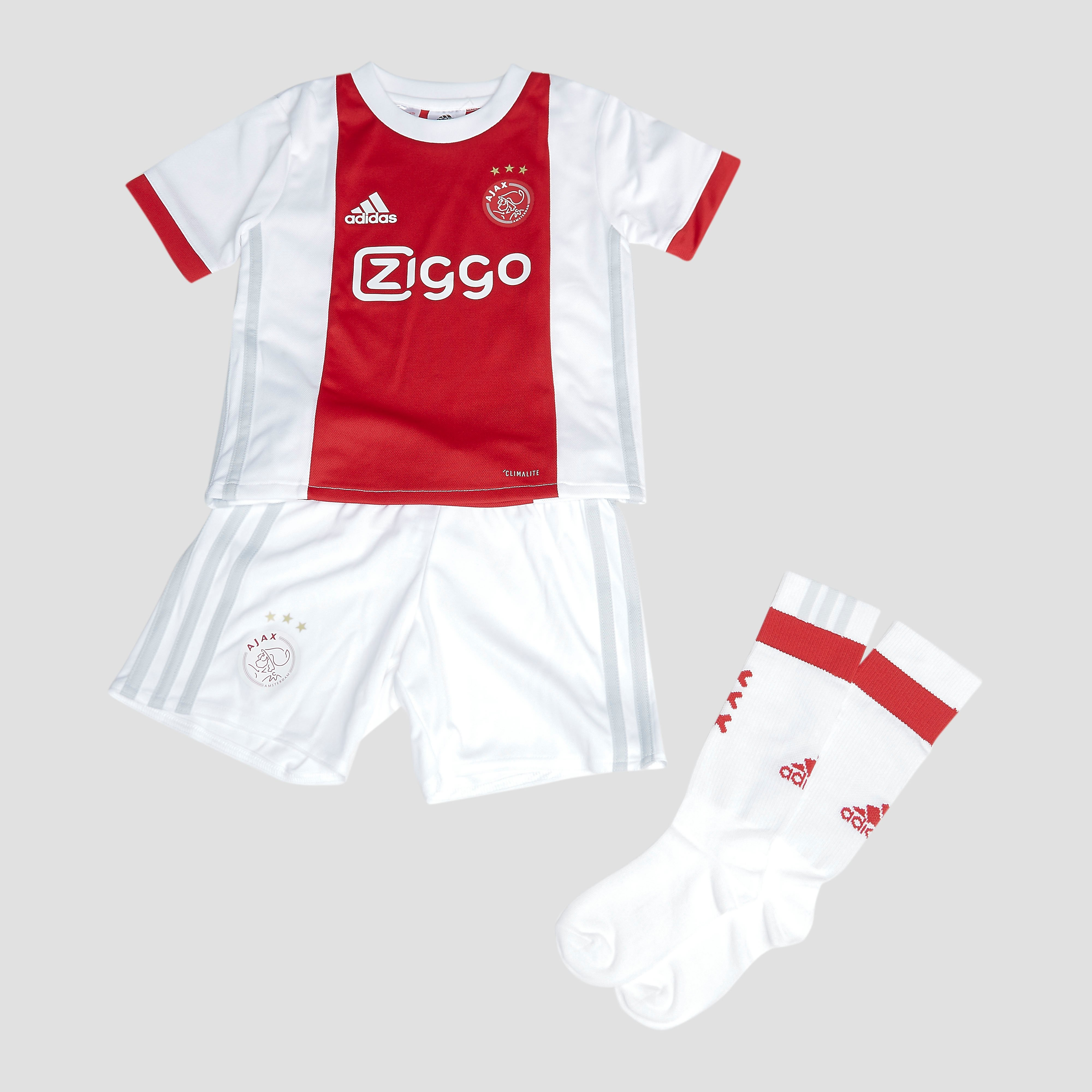 AJAX THUISTENUE 17/18 WIT/ROOD BABY thumbnail